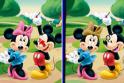 Egy újabb különbségkeresős játék vár rád! Most Mickey egérrel!