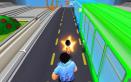Rohanj eszeveszett sebességgel, most a buszok között! Életveszélyes mégis fantasztikus játék!