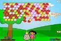 Párosítsd a megfelelő golyókat Dora segítségével!