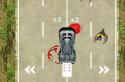 Takarítsd meg az utat a zombiktól! Nem lesz szép munka!