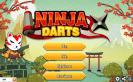 Nézd meg a nindzsák hogyan darts-oznak!