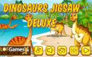 Dinoszaurusz puzzle vár. Te készen állsz?
