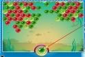 Lődd ki az egyforma színű buborékokat, de gyors légy!