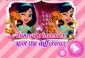 Keresd meg a csodaszép hercegnőkről készült képek közötti különbségeket!
