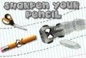 Sharpen Your Pencil