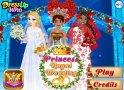 Öltözz ki egy hercegnő esküvőjére. Segíts a többieknek is!