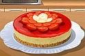 Igazi főzős játék, gyere segíts sajttortát készíteni az ingyenes online játék felületén!