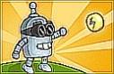 Segíts a robotnak, hogy minél több pont legyen a jutalma, és a kulcsot is megtalálja a kapuhoz!
