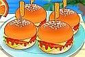 Kiszolgálós játék, de nem abból a szimpla főzős játék fajtából, hanem most a vendégeknek neked kell a hamburger minden darabját feldolgoznod, hogy az online játék végére a legfinomabbal legyenek elkápráztatva.