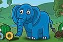 Etesd meg a kis elefántot, és küzdd le az akadályokat!