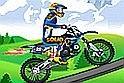 A sport játék és a motoros játék profi találkozása! Most meg kell mutatnod, mennyire vagy profi két keréken egy online játék felületén.