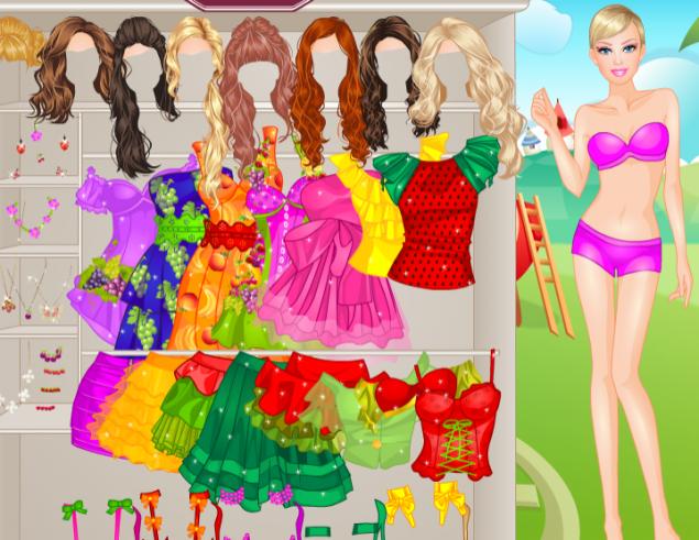 a67faaaa4c Barbie Frutilicious Style - Játssz online! - Startlap Játékok
