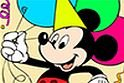 Happy Mickey Online Coloring