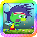 Run, Pixie RUN! And fly. In fact, mainly fly. Tap or click to fly up; release to drop back down. Collect colorful charms for Pixie Power. It couldn't be simpler! Just don't touch the sharp pointy objects...