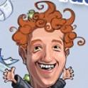 A Facebook alapító Mark Zuckerberget kell reptetnünk úgy, hogy minél több tárgyat eltaláljunk vele.