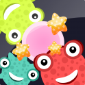 Bounce the bubbles off of the cute and colorful monsters! How many combos can you get in this casual endless arcade game?