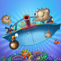 Play this underwater Plinko-like game! Use your pearls to destroy all of the sea creatures and clear the level. Tap and release to aim and shoot the pearls and watch as they drop and bounce through the level. You can spend the points you earn on special e...