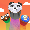 You can have your cupcake and eat it too! Click, tap or swipe to eat cupcakes. They look yummy so don't drop any. For dessert lovers, no diets in this game, so go for the sweets, avoid the cabbage, onion, and broccoli veggies and score high!