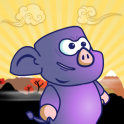 Help Ninja Pig save the world from an alien invasion! Collect shurikens to shoot as you run through 10 levels to finally confront the boss. Improve your star rating on each level by completing it in one go, shooting some enemies and still having ammunitio...