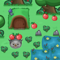 A game about a funny hedgehog named Tom! When you touch him all items disappear from the screen and you need to remember how to get to his house without touching the hidden obstacles. Make sure to collect all of the apples!