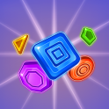 The task is simple, solve the puzzle, get the diamond. How hard could it be, right? As it turns out, it can be really hard. If one thing moves, everything moves. Match shapes with other shapes that are the same shapes to get a new shape. Each new shape yo...