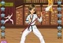 Karatelány-öltöztető!