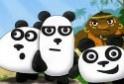 Szökj meg a három pandával! Vidám kalandok várnak rád!