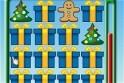 Karácsonyi memóriajáték sok-sok ajándékkal, hóemberrel, fenyőfával! Találj meg minden párt!