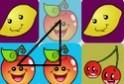 Háromszög, illetve négyszög formában kell jelölgetned az azonos figurákat, majd csapj a szóközre!